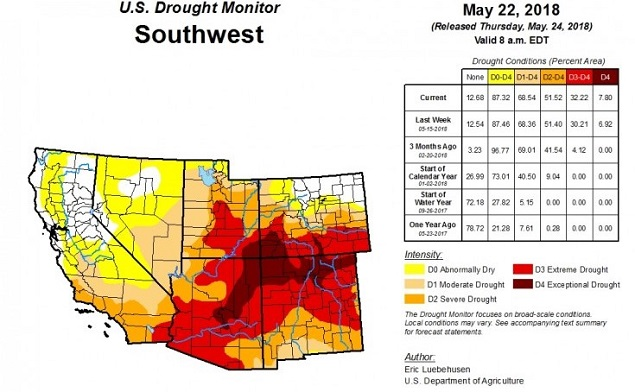 Best Of The West Drought Settles Into Four Corners National Parks